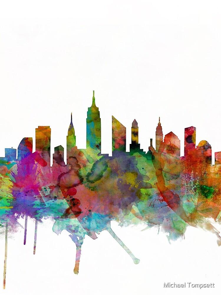 New York City Skyline von ArtPrints