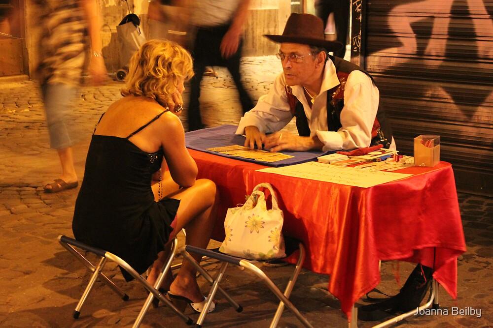 Tarot in Trastevere by Joanna Beilby