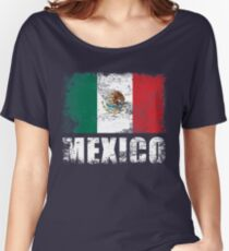 Mexico Flag  Women's Relaxed Fit T-Shirt