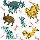 « Les chiens » par Tirmes