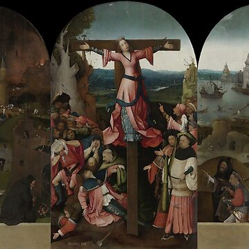 The Crucifixion of St Julia - Hieronymus Bosch by themasters