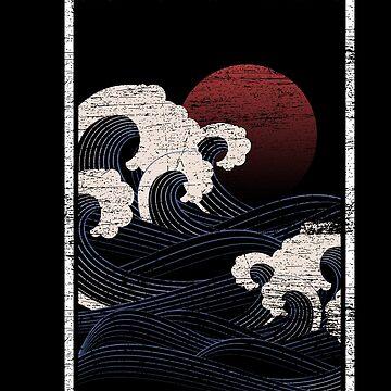 Japan Pacific by GeschenkIdee