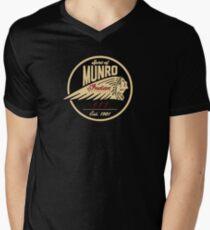 Spirit Of Munro Power Of Indian bikers Men's V-Neck T-Shirt