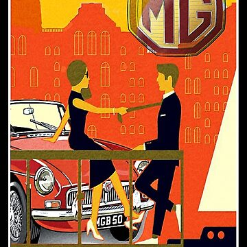 MG retro road by stevenpoulton