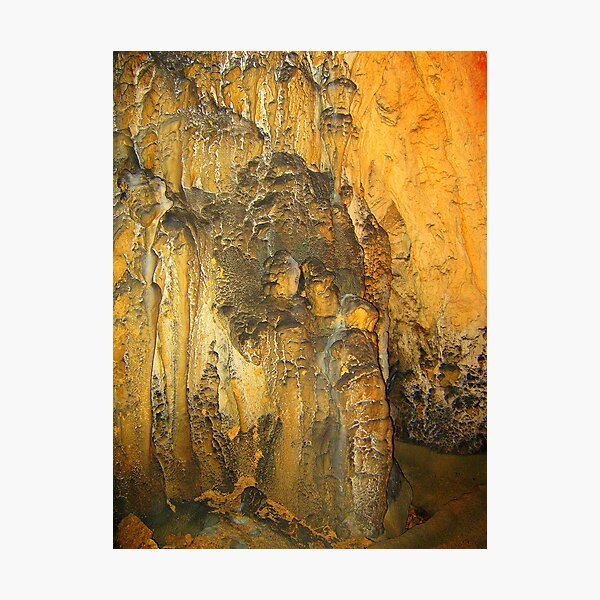 COUPLE IN LOVE - CAVE SCULPTURE Photographic Print