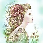 """""""THE ARIES"""" - Protective Angel for Zodiac Sign by Anna Miarczynska"""