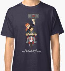 John Connor and Tim - Terminator 2 Classic T-Shirt