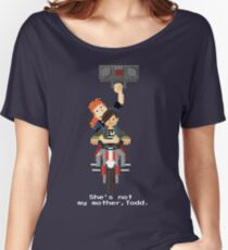 John Connor and Tim - Terminator 2 Women's Relaxed Fit T-Shirt
