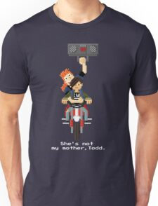 John Connor and Tim - Terminator 2 Unisex T-Shirt