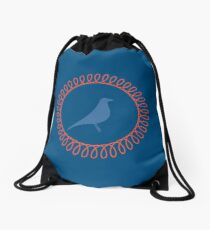 Little Birdy Drawstring Bag