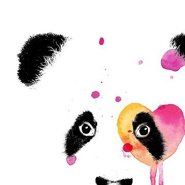 Love Panda by Kiteboy
