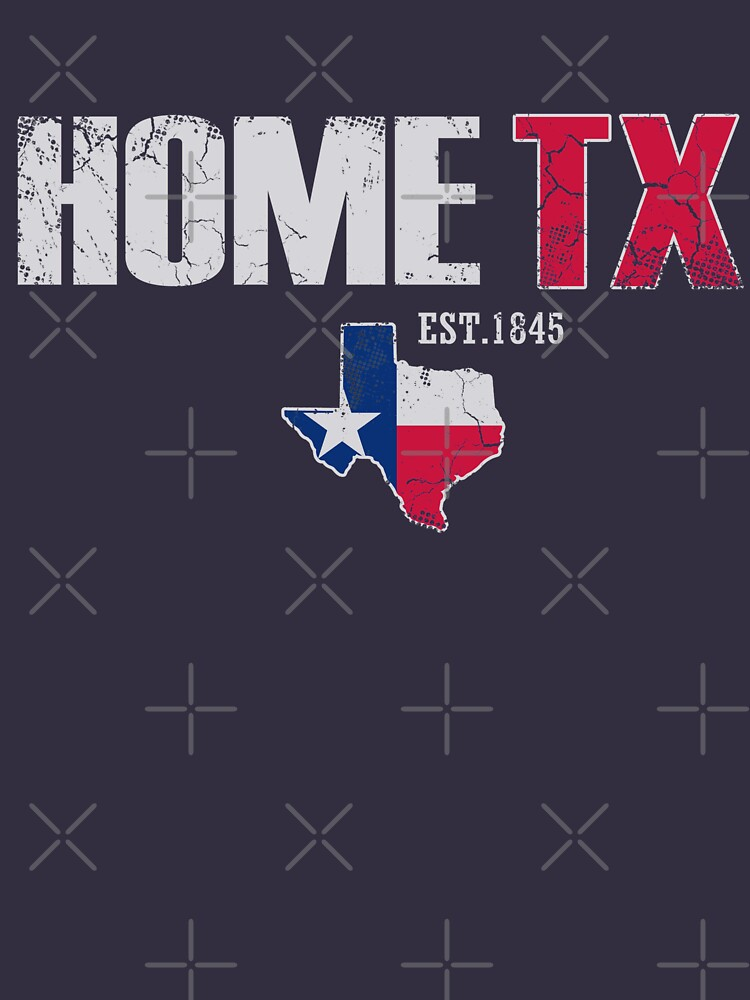 Home Texas EST. 1845 by frittata