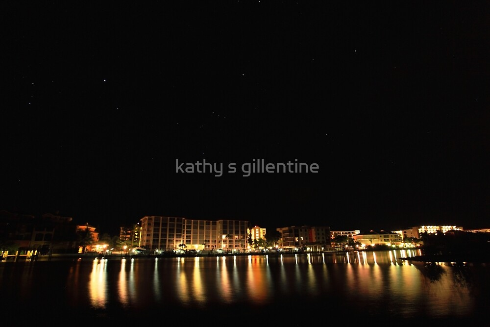 reflections of the night by kathy s gillentine