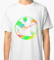 Colorful Art Design Gift Idea Classic T-Shirt