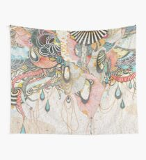 Mind-drawing - Doodling-design Wall Tapestry