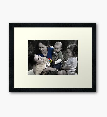 For all the Wonder Women out there... Framed Print
