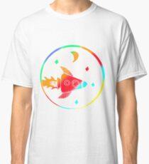 Colorful Rocket Art Design Gift Idea Classic T-Shirt