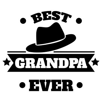 Best Grandpa Ever Grandpas hat black - Gift Idea by vicoli-shirts