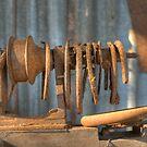 The Vintage Lathe, Howard, Queensland, Australia  by Adrian Paul