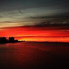 sunrise over Estero Island by kathy s gillentine