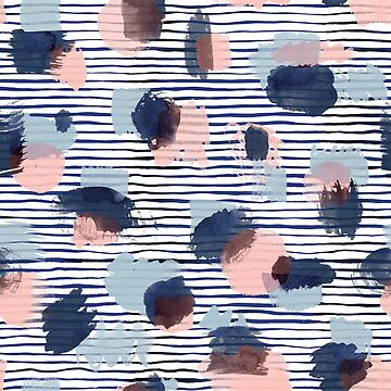 Modern Graphic Dots and Stripes by ninoladesign