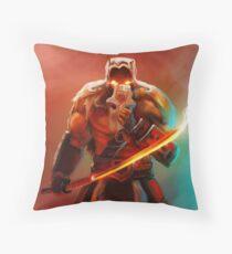 Juggernaut art Dota 2 Throw Pillow
