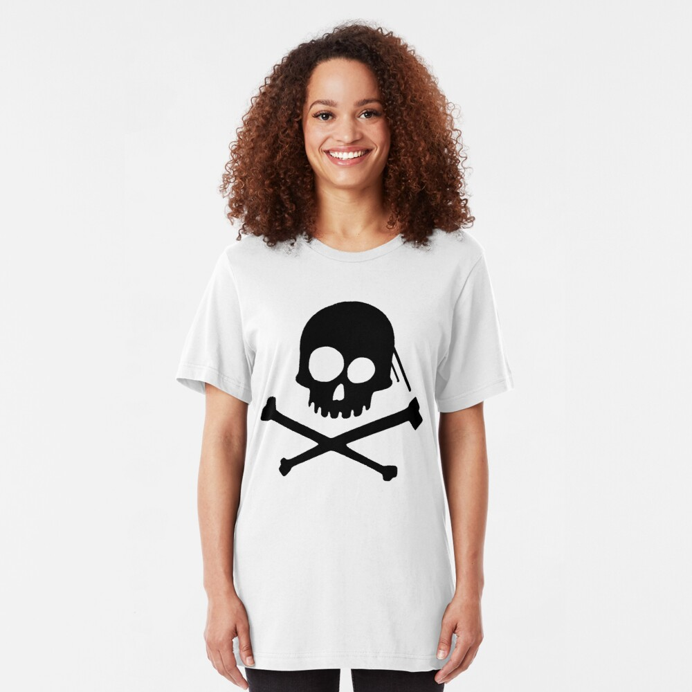 He's a Pirate II. Slim Fit T-Shirt