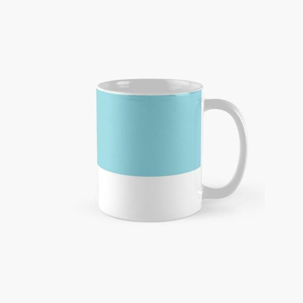 Island Paradise Blue Pantone Simple Design Classic Mug