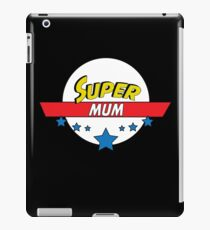 Super mum, #mum  iPad Case/Skin