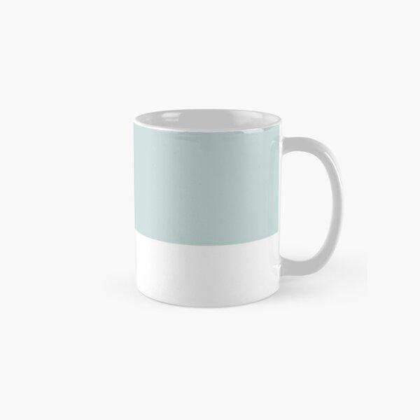 Chalk Blue Pantone Simple Design Classic Mug