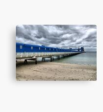 CBH Grain Terminal Conveyor - Kwinana Beach Canvas Print
