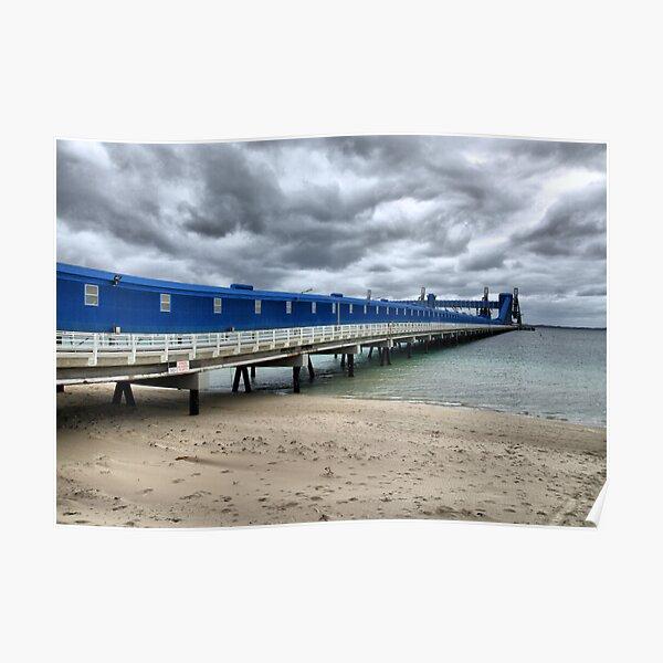 CBH Grain Terminal Conveyor - Kwinana Beach Poster