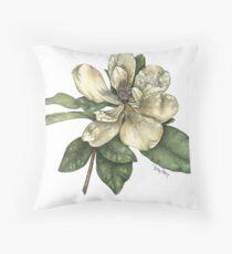Magnolie Blume Kissen