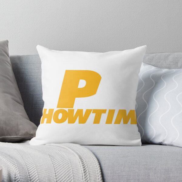 Chiefs Kingdom: Showtime is 2PM Throw Pillow