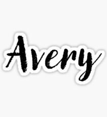 Avery - Cute Names For Girls Stickers & Shirts Sticker