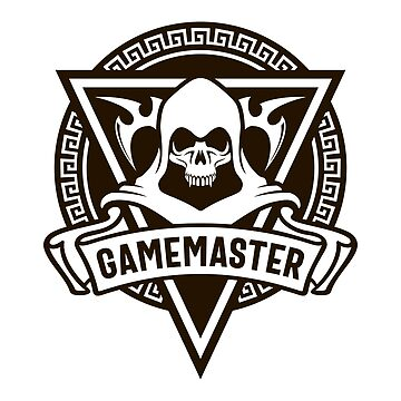 The Skull of the Gamemaster - Game Master Dungeons Crawler and Dragons Slayer Tabletop RPG Addict by pixeptional