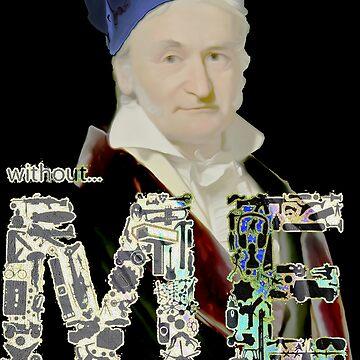 Gauss by painterfrank