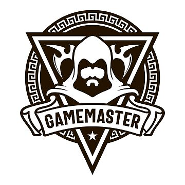 The Gamemaster The Narator The Storyteller Dungeons Crawler and Dragons Slayer Tabletop RPG Addict by pixeptional