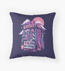 Retro gaming machine Throw Pillow