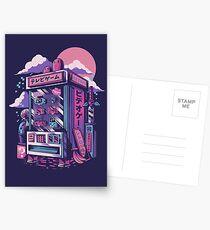 Retro gaming machine Postcards