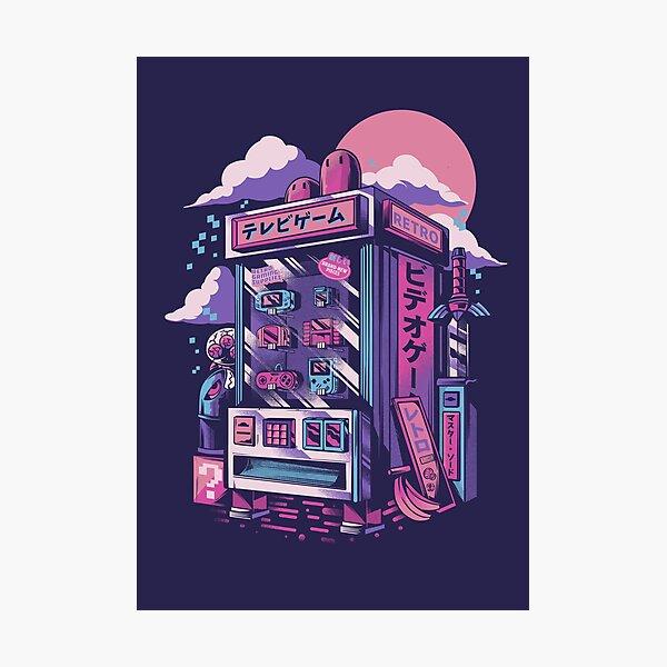 Retro gaming machine Photographic Print