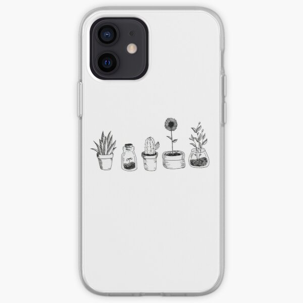 4 plants are better than 3 but then again 5 is better iPhone Soft Case
