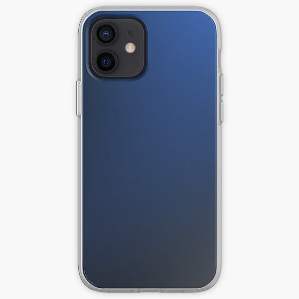 Blue duotone background.  iPhone Soft Case