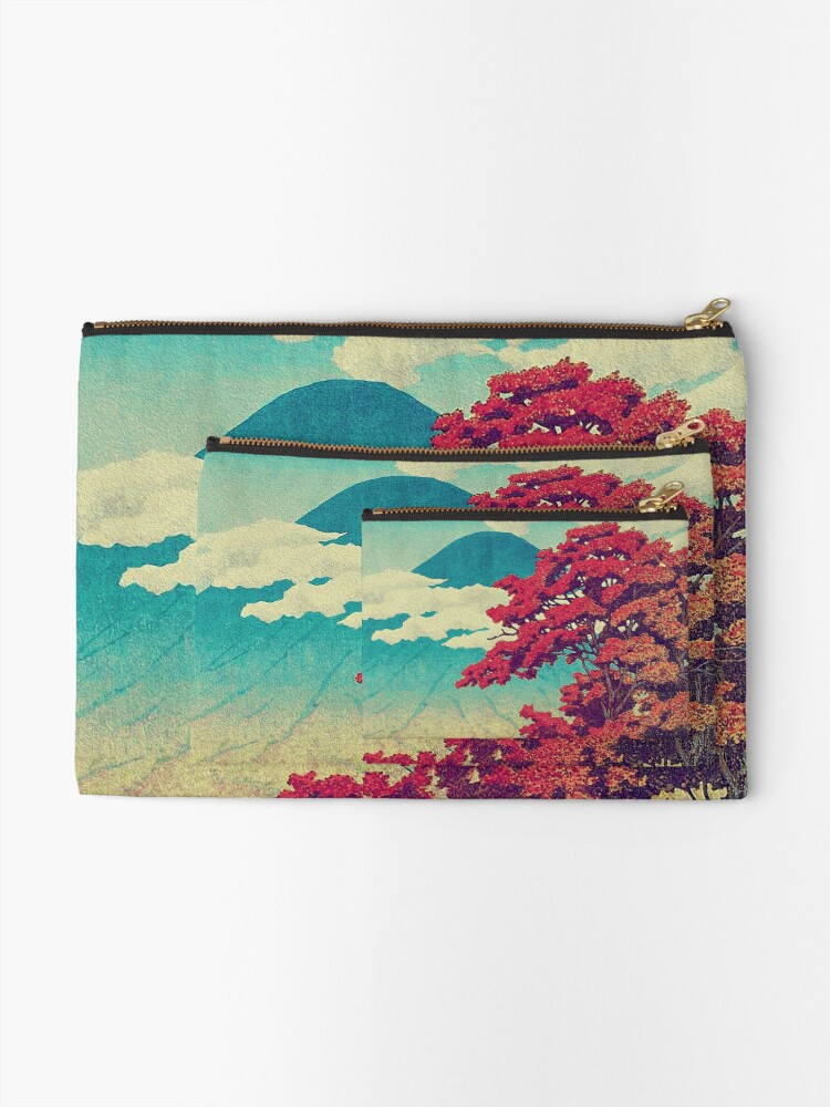 Alternate view of The New Year in Hisseii Zipper Pouch