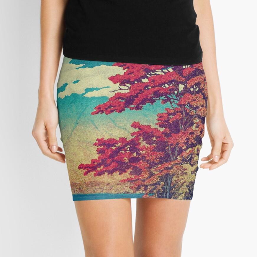 The New Year in Hisseii Mini Skirt
