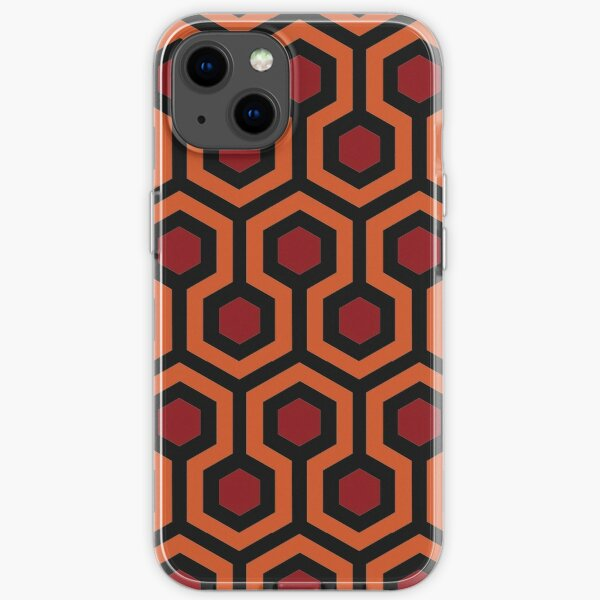 The Shining Carpet from the Overlook Hotel iPhone Soft Case