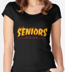 3a4b95150750 Seniors Thrasher 2019 Women s Fitted Scoop T-Shirt
