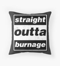Straight Outta Burnage, Our Kid Throw Pillow
