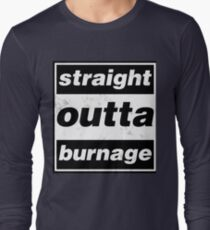 Straight Outta Burnage, Our Kid Long Sleeve T-Shirt