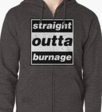 Straight Outta Burnage, Our Kid Zipped Hoodie